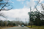 Highway 61 in Greensboro, Alabama.