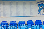 The list of sponsors past and present who bought seats for the stand at the St Mary's GAA grounds in Cahersiveen.