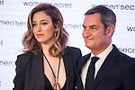 "Blanca Suarez and Firm director Jaume Miquel during the presentation of new campaign of Women'Secret with Blanca Suarez, new image of its new campaign ""My Secret Dream"" in Madrid. April 20, 2016. (ALTERPHOTOS/Borja B.Hojas)"