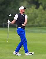 Paul Peterson (USA) on the 5th fairway during Round 3 of the D+D Real Czech Masters at the Albatross Golf Resort, Prague, Czech Rep. 02/09/2017<br /> Picture: Golffile | Thos Caffrey<br /> <br /> <br /> All photo usage must carry mandatory copyright credit     (&copy; Golffile | Thos Caffrey)