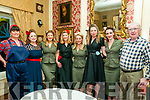 Listowel Military Tattoo: The Bomb Shell Belles Charlotte, Katie & Alex pictired  with Karen McInerney, Margaret Kennelly, Diane McInerney, Priscilla Emms & Vincent McInerney, Listowel at the Ball at the Listowel on Sunday night.
