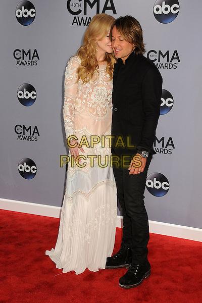 05 November 2013 - Nashville, Tennessee - Nicole Kidman, Keith Urban. 47th CMA Awards, Country Music's Biggest Night, held at Bridgestone Arena. <br /> CAP/ADM/BP<br /> &copy;BP/ADM/Capital Pictures