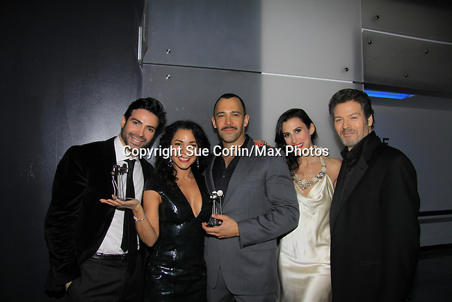 "WINNER - ""Hustling"" -  Days of Our Lives Kevin Spirtas ""Craig Wesley"", One Life To Live ""Jonas Chamberlain"" and Young and Restless ""Les"" and Sebastian LaCause  is in Hustling is a presenter at We Love Soaps and The Indie Series Network present the 4th Annual Indie Soap Awards - ISAs on February 19, 2013 from New World Stages, New York City, New York. (Photo by Sue Coflin/Max Photos)"
