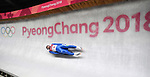 Dominik Fischnaller (ITA). Mens luge. Pyeongchang2018 winter Olympics. Alpensia sliding centre. Alpensia. Gangneung. Republic of Korea. 11/02/2018. ~ MANDATORY CREDIT Garry Bowden/SIPPA - NO UNAUTHORISED USE - +44 7837 394578