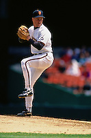SAN FRANCISCO, CA - Bill Swift of the San Francisco Giants pitches during a game at Candlestick Park in San Francisco, California in 1994. (Photo by Brad Mangin)