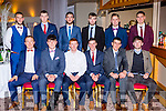 Kerry Junior players who received their All Ireland medals in the INEC on Saturday night front row l-t: Thomas Hickey, Liam Kearney, Alan O'Donoghue, Philip O'Connor, Michael Brennan, Shane Murphy. Back row: Jeff O'Donoghue, Jack McGuire, David Griffin, Darragh O'Sé, Adam Barry and Eamon  Kiely