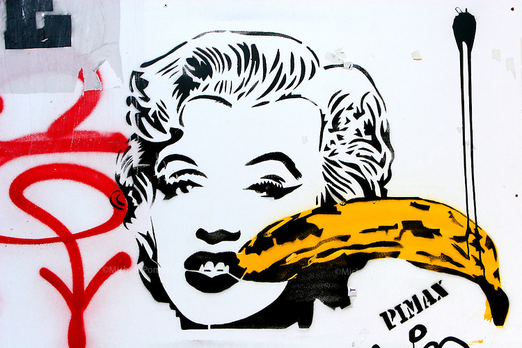 21.03.2008 Paris(France)<br /> <br /> Graffiti de Pimax a Paris.<br /> <br /> Pimax graffiti in Paris.