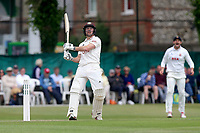 Rory Burns hits out for Surrey during Surrey CCC vs Essex CCC, Specsavers County Championship Division 1 Cricket at Guildford CC, The Sports Ground on 11th June 2017