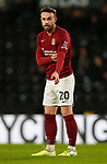 Matt Warburton of Northampton during the FA Cup match at the Pride Park Stadium, Derby. Picture date: 4th February 2020. Picture credit should read: Darren Staples/Sportimage