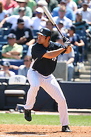 March 17th 2008:  Johnny Damon of the New York Yankees during a Spring Training game at Legends Field in Tampa, FL.  Photo by:  Mike Janes/Four Seam Images