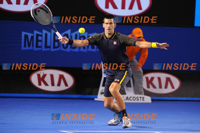 Novak Djokovic (SRB) .Melbourne 20/1/2013.Tennis Open d'Australia.Foto Virginie Bouyer / Sportmag / Panoramic / Insidefoto.ITALY ONLY