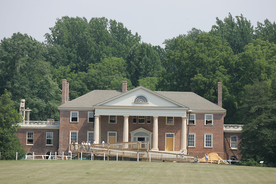 Montpelier, home of James Madison, is located in Orange, Va. .
