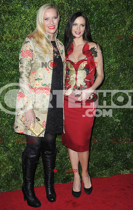 """New York, NY- December 4, 2012: Keren Craig and Georgina Chapman attends the HBO and Vogue Screening """"In Vogue: The Editor's Eye"""" at the Metropolitan Museum of Art on December 4, 2012 in New York City. (C) Joe Stevens / Mediapunch ©/NortePhoto /NortePhoto© /NortePhoto /NortePhoto"""
