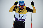 HOLMENKOLLEN, OSLO, NORWAY - March 16: Tino Edelmann of Germany (GER) during the cross country 15 km (2 x 7.5 km) competition at the FIS Nordic Combined World Cup on March 16, 2013 in Oslo, Norway. (Photo by Dirk Markgraf)