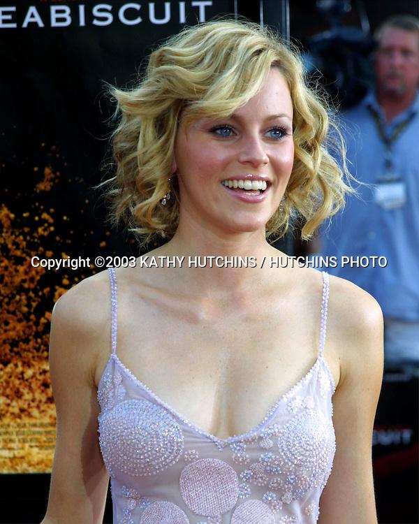 "©2003 KATHY HUTCHINS / HUTCHINS PHOTO.""SEABISCUIT"" PREMIERE.WESTWOOD, CA.JULY 22, 2003..ELIZABETH BANKS"