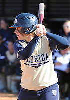 Florida International University infielder/outfielder Kennah Orr (4) plays against the University of Illinois.  FIU won the game 8-0 on February 12, 2012 at Miami, Florida. .