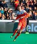 ROTTERDAM - Jelle Galema (NED)  )   tijdens   de Pro League hockeywedstrijd heren, Nederland-Spanje (4-0) . COPYRIGHT KOEN SUYK