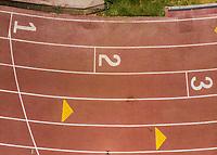 Vista aerea de Complejo deportivo de la Comisi&oacute;n Estatal de Deporte, CODESON en Hermosillo, Sonora....<br /> <br /> Pista de Atletismo. 1, 2, 3, Primero, Segundo, Tercero, Lugar, Lugares, Orden.<br /> <br /> Photo: (NortePhoto / LuisGutierrez)<br /> <br /> ...<br /> keywords:
