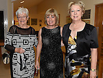 Mary Smith, Grainne Lynne and Maureen Cullen pictured at the Captains dinner at Seapoint Golf Club. Photo:Colin Bell/pressphotos.ie