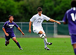 13 September 2009: University of New Hampshire Wildcats' forward Sean Coleman, a Sophomore from Stratham, NH, in action against the University of Portland Pilots during the second round of the 2009 Morgan Stanley Smith Barney Soccer Classic held at Centennial Field in Burlington, Vermont. The Pilots defeated the Wildcats 1-0 and inso doing were the Tournament Champions for 2009. Mandatory Photo Credit: Ed Wolfstein Photo