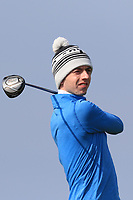 William Russell (Clandeboye) on the 1st tee during Round 3 of The West of Ireland Open Championship in Co. Sligo Golf Club, Rosses Point, Sligo on Saturday 6th April 2019.<br /> Picture:  Thos Caffrey / www.golffile.ie