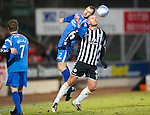 St Johnstone v St Mirren....22.01.11  .Dave Mackay and Michael Higdon.Picture by Graeme Hart..Copyright Perthshire Picture Agency.Tel: 01738 623350  Mobile: 07990 594431