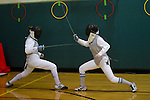 Chapin '12 - Fencing Practice - 2-16-12