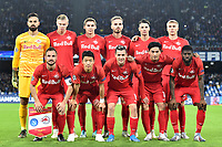Salzburg Team photo lines up <br /> Napoli 05-11-2019 Stadio San Paolo <br /> Football Champions League 2019/2020 Group E<br /> SSC Napoli - FC Salzburg<br /> Photo Antonietta Baldassarre / Insidefoto