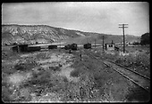 View southward from Ridgway depot toward the joint RGS/D&amp;RGW yard.<br /> RGS  Ridgway area, CO  ca. 6/16/1944