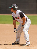 GREEN BAY - June 2015: Green Bay Bullfrogs outfielder Robb Paller (29) during a Northwoods League game against the Kenosha Kingfish on June 21st, 2015 at Joannes Park in Green Bay, Wisconsin. Green Bay defeated Kenosha 10-7. (Brad Krause/Krause Sports Photography)