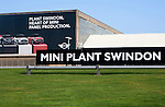 Mini car plant factory Swindon, England, UK