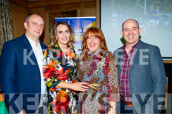 Having fun at the Cordal GAA annual barbecue in the Ballygarry house hotel, Tralee last Saturday night were L-R Tom&Marion O'Connor, Caitiona Dennehy and Ownie Nolan.