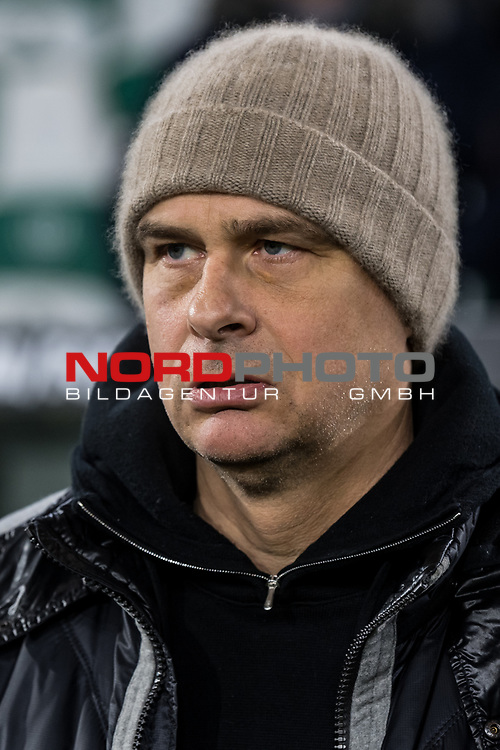 01.12.2019, Volkswagen Arena, Wolfsburg, GER, 1.FBL, VfL Wolfsburg vs SV Werder Bremen<br /> <br /> DFL REGULATIONS PROHIBIT ANY USE OF PHOTOGRAPHS AS IMAGE SEQUENCES AND/OR QUASI-VIDEO.<br /> <br /> im Bild / picture shows<br /> Klaus Filbry (Vorsitzender der Geschäftsführung / Kaufmännischer Geschäftsführer SV Werder Bremen), <br /> <br /> Foto © nordphoto / Ewert