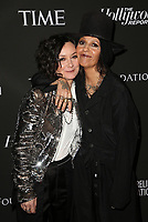 LOS ANGELES, CA - JANUARY 5: Sara Gilbert, Linda Perry, at the J/P HRO &amp; Disaster Relief Gala hosted by Sean Penn at Wiltern Theater in Los Angeles, Caliornia on January 5, 2019.            <br /> CAP/MPI/FS<br /> &copy;FS/MPI/Capital Pictures