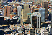 Aerial of Downtown Denver. Feb 2013