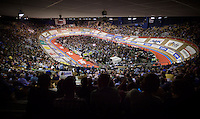 The packed iconic Kuipke Velodrome<br /> <br /> 2015 Gent 6