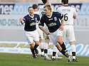 16/02/2008    Copyright Pic: James Stewart.File Name : sct_jspa18_falkirk_v_st_mirren.SCOTT ARFIELD CELEBRATES SCORING FALKIRK'S SECOND.James Stewart Photo Agency 19 Carronlea Drive, Falkirk. FK2 8DN      Vat Reg No. 607 6932 25.Studio      : +44 (0)1324 611191 .Mobile      : +44 (0)7721 416997.E-mail  :  jim@jspa.co.uk.If you require further information then contact Jim Stewart on any of the numbers above........