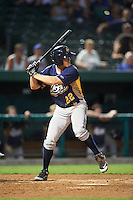 Burlington Bees designated hitter Jordan Zimmerman (22) at bat during a game against the South Bend Cubs on July 22, 2016 at Four Winds Field in South Bend, Indiana.  South Bend defeated Burlington 4-3.  (Mike Janes/Four Seam Images)