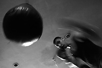 Fotografia y texto: Cutzi Salgado <br /> <br /> Culiac&aacute;n sinaloa <br /> <br /> Los Borregos del Box<br /> <br /> Suena la campana y todo se pone en marcha. Suena la campana y todo en calma. Tres minutos de duro trabajo por uno de descanso. Y la vida se va en un round.Cuando uno llega a la &ldquo;Ch&aacute;vez Factory&rdquo; huele a sudor. Hombres y mujeres por igual practican uno de los deportes m&aacute;s antiguos y populares del mundo, el boxeo. Pareciera que cada qui&eacute;n est&aacute; en su mundo, todos se mueven, todos golpean, todos sudan por igual.  Aqu&iacute; nadie tira la toalla. Tan s&oacute;lo esperan el sonido de la campana para tomar un respiro del arduo entrenamiento y un &uml;buchi&rdquo; de agua.Promotora de Box denominada &ldquo;Ch&aacute;vez Factory&rdquo;, es un proyecto que se encarga de detectar nuevos talentos y apoyar a todos los j&oacute;venes con futuro en &eacute;ste deporte. Manejada por Rodolfo Ch&aacute;vez Gonz&aacute;lez  y Miguel Molleda, se han dedicado a la tarea m&aacute;s noble que una persona puede emprender, ense&ntilde;ar a otros y catapultar a quienes tiene talento para este deporte. Los Ch&aacute;vez Gonz&aacute;les son sin&oacute;nimo de campeones. Los hermanos: RodolfoRafael, Julio Cesar y Roberto todos fueron grandes practicantes de &eacute;ste deporte y eran mejor conocidos en el mundo del pugilismo como &ldquo;Los Borregos&rdquo; por su pelo encrespado. La prueba m&aacute;s reciente de &eacute;sta casta de campeones son  Julio Cesar Ch&aacute;vez Jr.  y su hermano Omar pero Anel, &ldquo;la borreguita&rdquo; Ch&aacute;vez con apenas 18 a&ntilde;os se prepara para seguir el linaje de la familia.