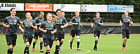 20170722 - RIJEN , NETHERLANDS :  illustration of players warming up  pictured during the training on the pitch of VV Rijen , The Netherlands PHOTO SPORTPIX.BE | DIRK VUYLSTEKE