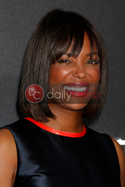 "Aisha Tyler<br /> at the ""Atomic  Blonde"" Premiere, Theater at the Ace Hotel, Los Angeles, CA 07-24-17<br /> David Edwards/DailyCeleb.com 818-249-4998"