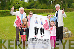 JEDWARD TIME: Launching the Jedward concert to be held in Denny Street, Tralee on Friday August 17th as part of the Rose of Tralee festival l-r: Danny Leen, Dawn McLarnon, Shannon Hennessy, Sinead Carr and Mark Sullivan (Ballyroe Heights hotel).