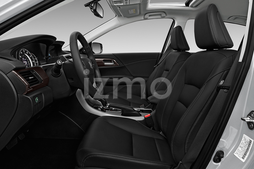 Front seat view of 2017 Honda Accord EX-L 4 Door Sedan Front Seat  car photos