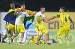 Llaneros igualó 0-0 ante Leones (1-4 en el global). Final vuelta Torneo Águila II-2017.