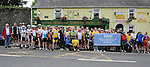 Cyclists who took part in the annual SOSAD cycle in Slane. Photo: Colin Bell/pressphotos.ie