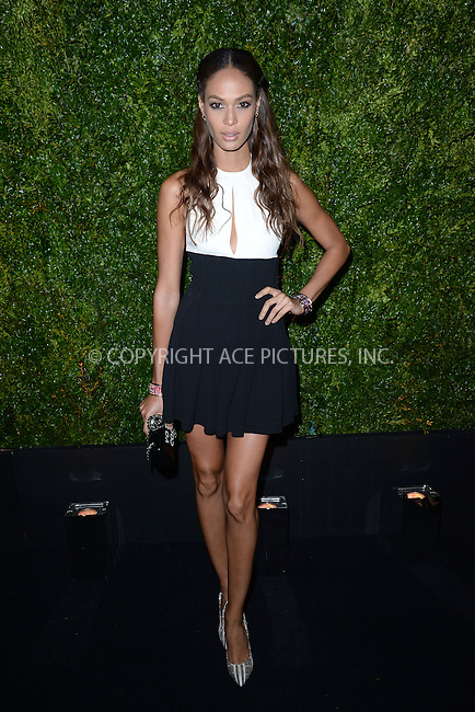 WWW.ACEPIXS.COM<br /> April 20, 2015 New York City<br /> <br /> Joan Smalls attending the 2015 Tribeca Film Festival CHANEL Artists Dinner at Balthazer on April 20, 2015 in New York City.<br /> <br /> Please byline: Kristin Callahan/AcePictures<br /> <br /> ACEPIXS.COM<br /> <br /> Tel: (646) 769 0430<br /> e-mail: info@acepixs.com<br /> web: http://www.acepixs.com