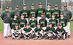 4-19-16, Huron High School varsity baseball team
