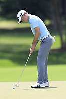 Martin Laird (SCO) putts on the 12th green during Thursday's Round 1 of the 2017 PGA Championship held at Quail Hollow Golf Club, Charlotte, North Carolina, USA. 10th August 2017.<br /> Picture: Eoin Clarke | Golffile<br /> <br /> <br /> All photos usage must carry mandatory copyright credit (&copy; Golffile | Eoin Clarke)