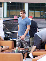 www.acepixs.com<br /> <br /> February 19 2017, Maimi Fl<br /> <br /> Super bowl winner, New England Patriots tight end Rob Gronkowski continues his partying at the River Yacht Club on February 19 2017 in Miami.<br /> <br /> By Line: Solar/ACE Pictures<br /> <br /> ACE Pictures Inc<br /> Tel: 6467670430<br /> Email: info@acepixs.com<br /> www.acepixs.com