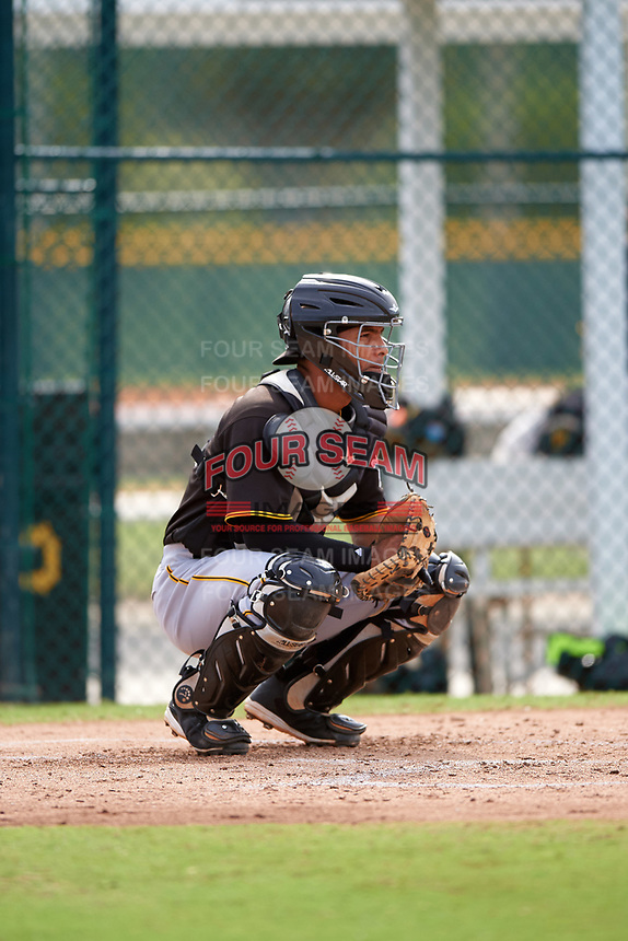 Pittsburgh Pirates Tomas Morales (71) during a minor league Spring Training intrasquad game on April 3, 2016 at Pirate City in Bradenton, Florida.  (Mike Janes/Four Seam Images)